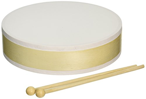 Darice-7-34-Inch-by-2-Inch-Drum-with-Sticks-Unpainted