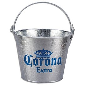 Amazon.com: Corona Extra Galvanized Beer Bucket: Ice Buckets: Kitchen