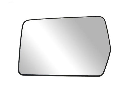 Fit System 88194 Driver Side Non-heated Replacement Mirror Glass with Backing Plate (F150 Mirror Heated Turn Signal compare prices)