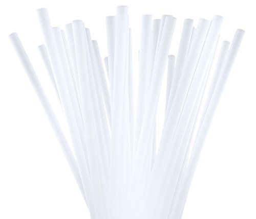 10 Inch Drinking Straws (250 Straws) (10 Inch x 0.28 Inch) (Clear) (Extra Large Smoothie Cup compare prices)
