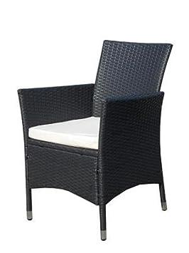 2 X Poly Rattan Sessel Stuhl Stühle Gartenmöbel Rattansessel Rattanstühle  Rattanstuhl Rattanmöbel   Us234