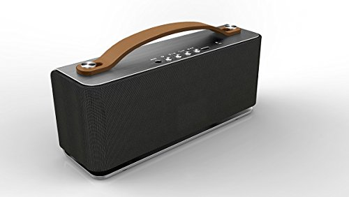 Berowatch X-05 Aluminum Bluetooth Speaker W/ Mic: A Portable Wireless Stereo Bluetooth 4.0 Speaker For All Devices-Great Value Powerful High Quality Speaker Guaranteed With Warranty