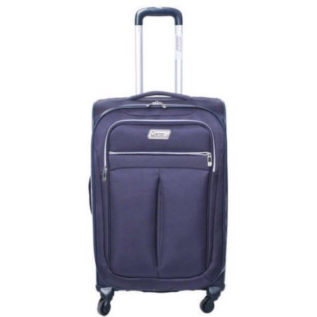 Coleman Lightweight Breeze Rolling Suitcase, Navy Blue (Coleman Luggage compare prices)