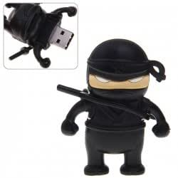 Naruto Ninja Black : USB 16 GB Flash Drive Memory - 1Pcs LIMITED!!!!