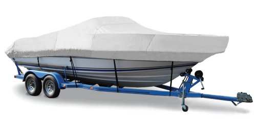 Taylor Made Products Trailerite Semi-Custom Boat Cover for Walk-Around Cuddy Cabin Boats with Outboard Motor
