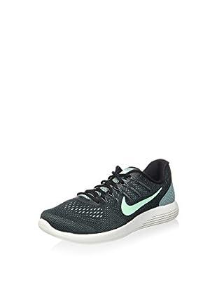 Nike Zapatillas Lunarglide 8 (Negro / Menta)