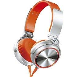 SONY 大型ヘッドホン(ヘッドバンド型・オレンジ) MDR-XB610 D 1.2mコード