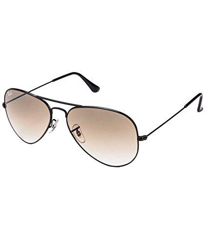 Ray-Ban RB3025 002/51 Medium Size 58 Aviator Sunglasses