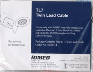 IOMED® Phoresor TL7 Lead Wire Cable: For PM850 & PM900 Systems Picture