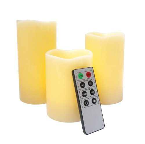 Flameless-LED-Candles-3-Mooncandles-with-Remote-Control