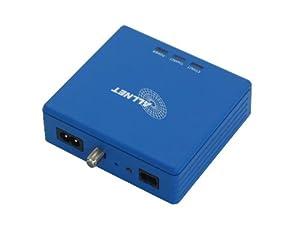Allnet ALL168207 CoaxNet 200Mbit/s Coaxial Adapter