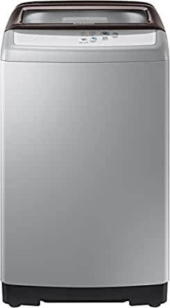 Samsung 6.2 kg Fully-Automatic Top Loading Washing Machine (WA62H4100HD, Brown/Silver)