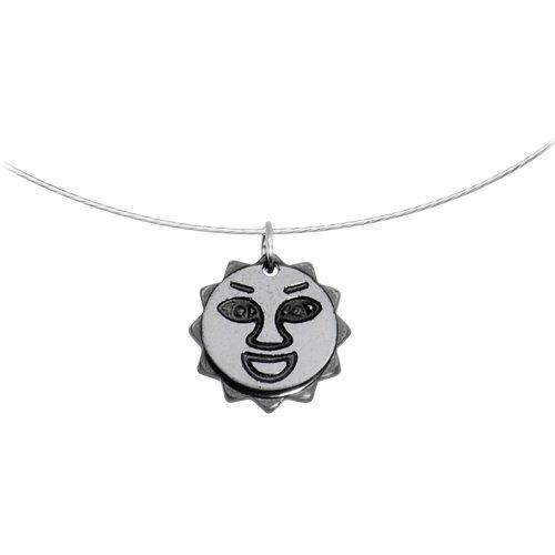 Hemalyke Sun Choker Necklace