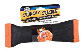 Crunch & Crackle Dog Chew Toy, Small