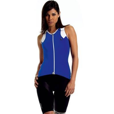 Buy Low Price Assos Women's NS.13 Lady Sleeveless Cycling Jersey – Blue – 12.22.141.8.2 (B001EMUVJS)