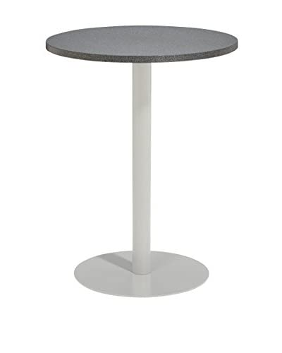 Oxford Garden Travira 32 Bar Table, Alstone Graphite/Aluminum