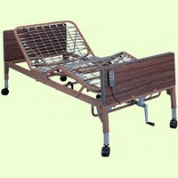 Ita-Med Single Crank Semi Electric Hospital Bed With Two Motors,Semi Electric Hospital Bed,Each