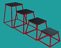 "Set of 4 Plyometric Platforms - 12"", 18"", 24"", 30"""