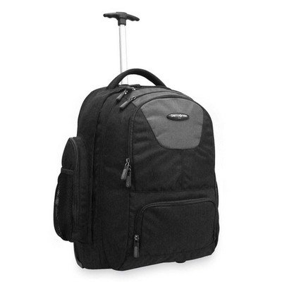 B004E3LW42 Samsonite Corporation – Wheeled Backpack, w/Organizational Pockets, Black