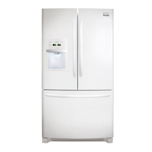Frigidaire FGHF2369MP Gallery 22.6 Cu. Ft. French Door Counter-Depth Refrigerator - Pearl White