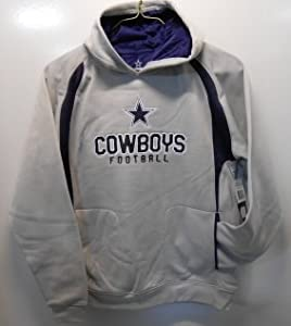 Dallas Cowboys Kids Pullover Hoodie (M) by Cowboys Authentic Apparel