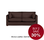 Medbourne Medium Sofa - Leather