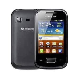 Samsung Galaxy Pocket S5300 Unlocked GSM Phone with 3G, Android 2.3 OS, 2MP Camera, GPS and Wi-Fi – Black