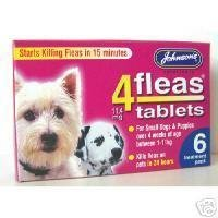 johnsons-veterinary-products-4fleas-tablets-for-puppies-and-small-dogs-treatment-pack-pack-of-6