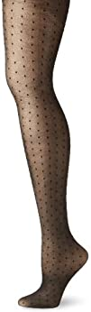Ellen Tracy Womens Sheer All Over Dot Tight