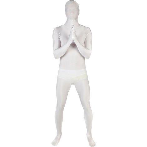 [White Morphsuit Mens X-Large] (White Morphsuit)