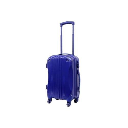 【東京ガールズコレクション ランウェイ商品】ハード キャリーケース actus color's ジッパーキャリー ネイビー Sサイズ 47cm スーツケース