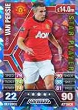 Match Attax 2013/2014 Robin Van Persie Manchester United Star Player 13/14