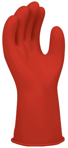 Salisbury Electrical Gloves, Size 8, Red, Class 00 - E0011R/8 And Lab Testing Report