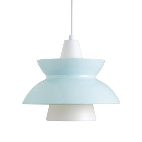 Louis Poulsen Hängeleuchte DooWop Leuchte - blau, Aluminium, pulverbeschichtet, Wohnzimmerleuchte - Tischleuchte - Pendelleuchte - Deckenleuchte