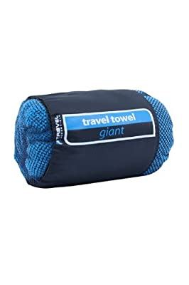 Micro Towelling Travel Towel Giant - Colour Turquoise Size One Size