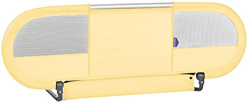 BabyHome-Side-Bed-Rail-Yellow
