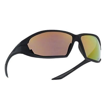 Bolle Ranger AS Sunglasses, Shiny Black/Red Flash Shiny