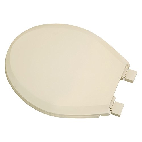 Centoco 3700SC-106-A Plastic Round Toilet Seat with Closed Front, Bone (Oval Slow Close Toilet Seat compare prices)