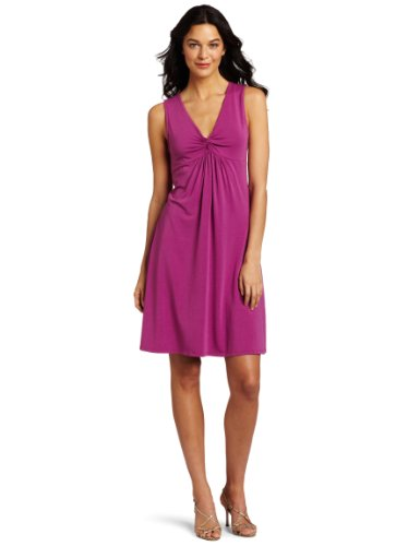 Mod-O-Doc Women's Modal Spandex Twisted Empire Dress