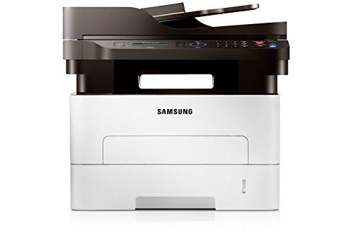 Samsung Xpress M2875FD/PLU Monolaser-Multifunktionsgerät (Drucken, Scannen, Kopieren, Faxen, 4.800 x 600 dpi, 128 MB Speicher, 600 MHZ Prozessor)