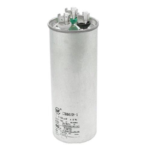 450VAC 7.5uF+60uF Motor Run Capacitor for Air Conditioner