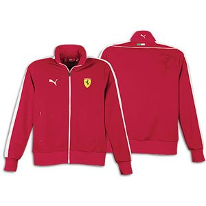 Amazon.com: PUMA Ferrari Track jacket - Men's - Rosso Corsa (Medium