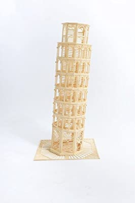 Bojeux Matchitecture Tower of Pisa Model Kit