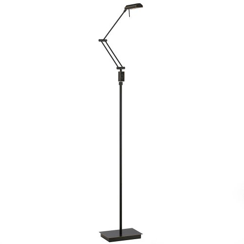 Cal Lighting Bo-2323Fl-Db Led Floor Lamp With Dimmer Switch, 5-Watt, Dark Bronze