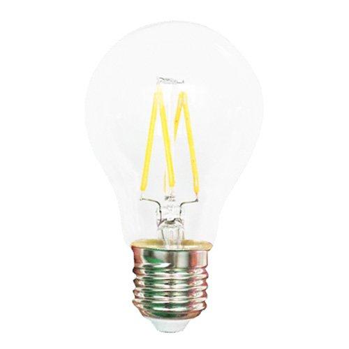 Hesion® Filament Led Bulb Light, 4Watt, 10Pack,Ac85-265V,450-480Lm,E27 Base, Equiv To 40Watt Halogen Lamp, Warm White 2700-3500