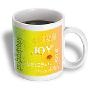 Patricia Sanders Inspirations - Citrus- Joy Rising- Inspirational Words- Motivational - 11Oz Mug (Mug_42644_1)
