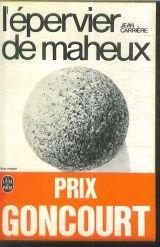 L'épervier de Maheux par Jean Carrière