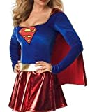 Ladies Supergirl Superwoman Fancy Dress Outfit Hen Do 8 - 10 Medium Costume