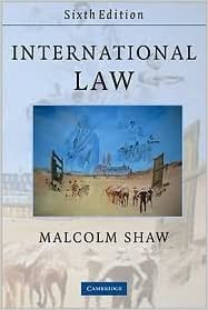 malcolm shaw international law 8th edition pdf