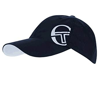 Amazon.com : Sergio Tacchini Men's Trois Hat (White/Navy